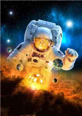 我,宇航员,太空直播!