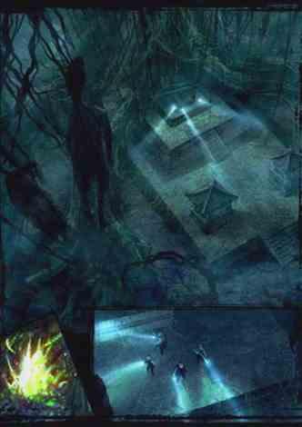 盗墓:寻宝被僵尸拉到墓里去了
