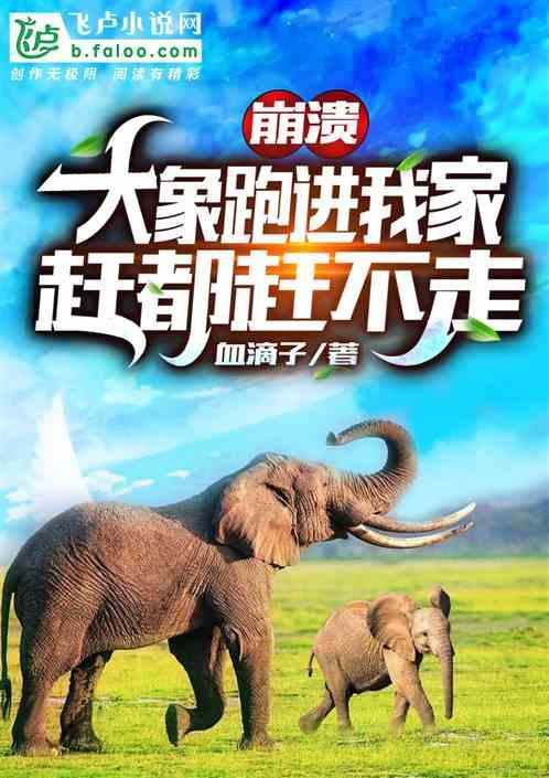 崩溃!大象跑进我家,赶都赶不走
