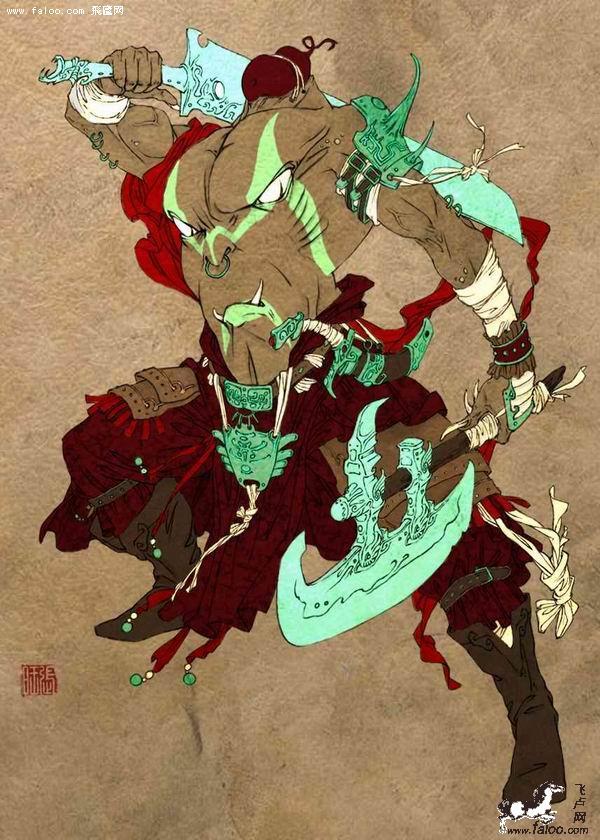 中国十大魔神