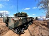 解放军装甲部队演练