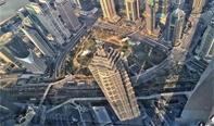 中国第一高楼位于上海向群众开放。